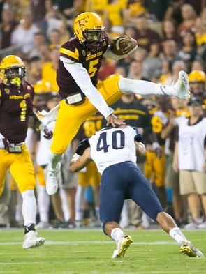 Sept. 3: ASU 44, NAU 13. This doesn't seem right, but