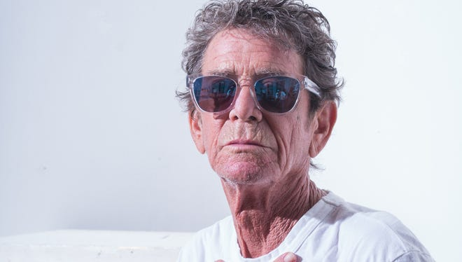 Lou Reed was 71 when he died on Sunday.
