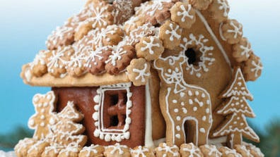 Show your gingerbread skills by entering the SoGo Gingerbread House Contest in November.