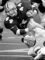 Canandaigua running back Scott Greene in 1990.