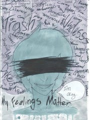 "Submission to ""My Feelings Matter"" poster contest."