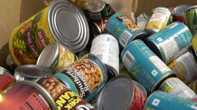 Stamp out Hunger food drive  is collecting food donations to restock the Manna Food Pantries