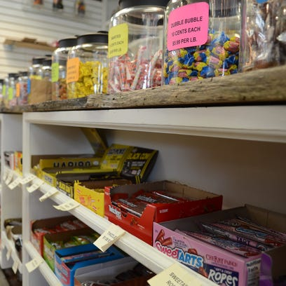 Back Porch Antiques offers taste of nostalgia with classic candies