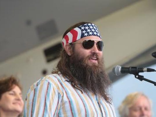 Duck Dynasty's Willie Robertson endorses Trump