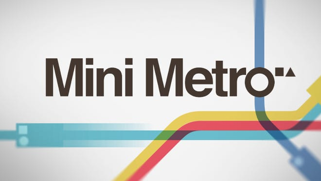 Mini Metro is a quirky strategy game.