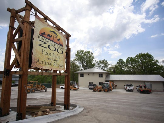 The Promised Land Zoo in Branson is expanding from