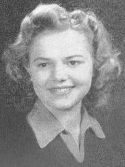 Josephine Tucker in 1947