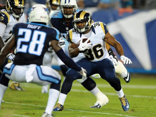 NFL: Preseason-St. Louis Rams at Tennessee Titans