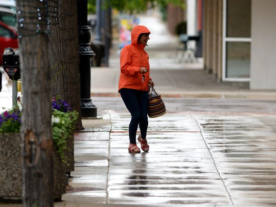 Rain is expected in Great Falls through Tuesday night.
