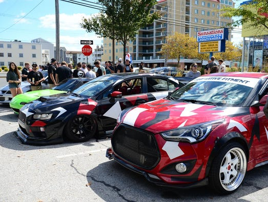 H2Oi enthusiasts gathered at 141st street in Ocean