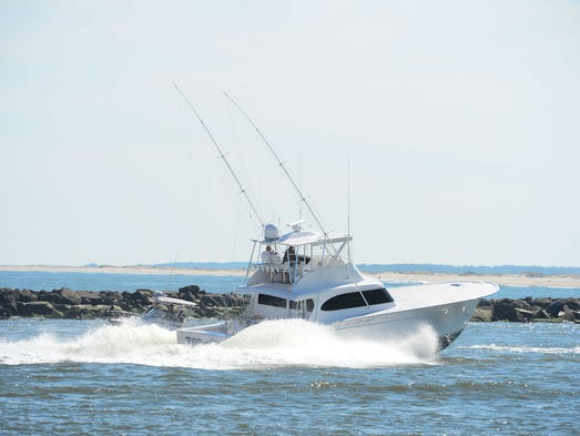 Trio of white marlins caught on pleasant wednesday at for Deep sea fishing atlantic city