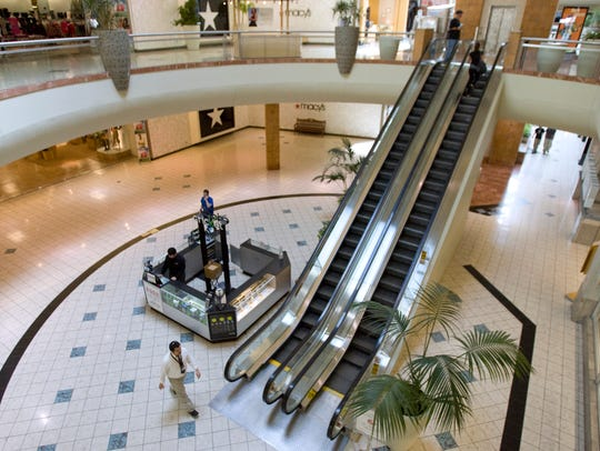 Interior of Metrocenter mall in Phoenix in 2010