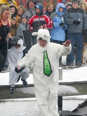 The 18th annual Children's Miracle Network polar bear
