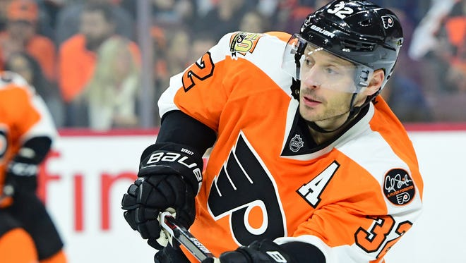Mark Streit has been the latest subject of trade rumors, but the Flyers think they can make a playoff run if kept together.