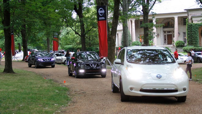 Nissan recently introduced its 2015 lineup last month at a mansion in Belle Meade, Tennessee, at what was the set for the pilot of the Nashville TV series.