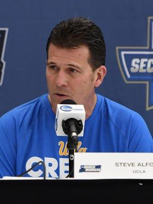 UCLA Bruins head coach Steve Alford.