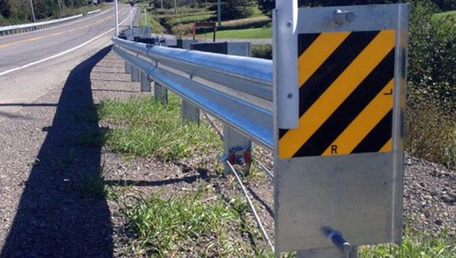 Lindsay Corp.'s X-LITE guardrail end has been tied to problems that have killed people who crash into them at speeds of 70 mph or more.