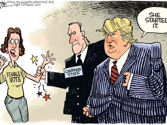 Trump and the female vote