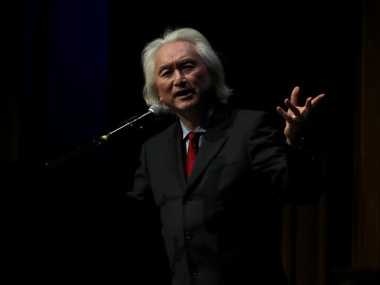 Renowned theoretical physicist and futurist Michio