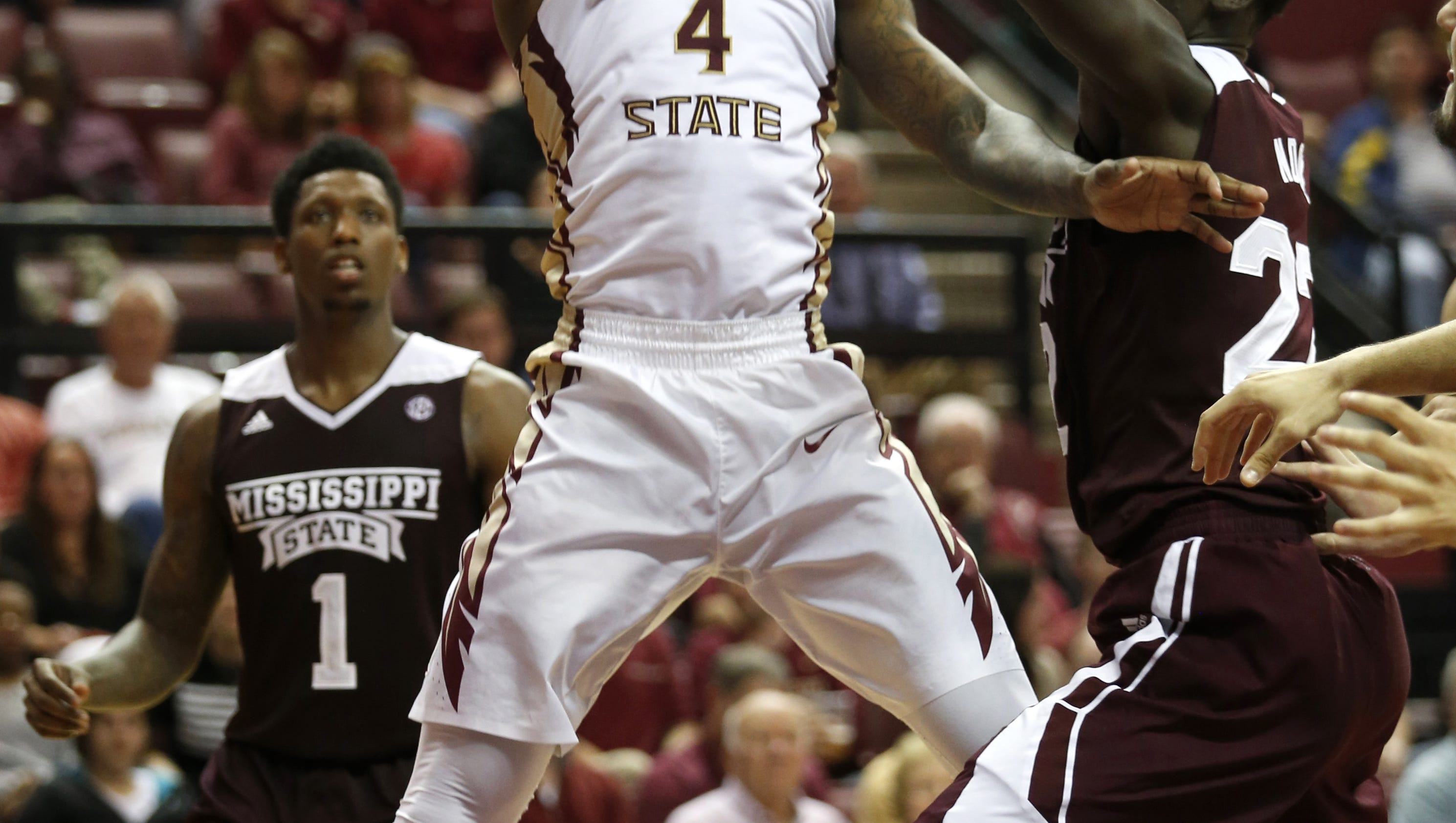 Bacon and Beasley shine in FSU rout of Mississippi St. 90-66