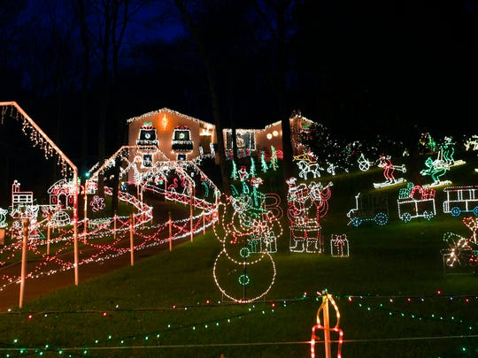This year is the last performance of Bill Minneci's beloved Sunnyside Lights in Brentwood's Sunnyside subdivision.   After 35 years, Minneci says his holiday lights display will end. The legendary display was started in memory of Minneci's son, BJ, who died in 1993.
