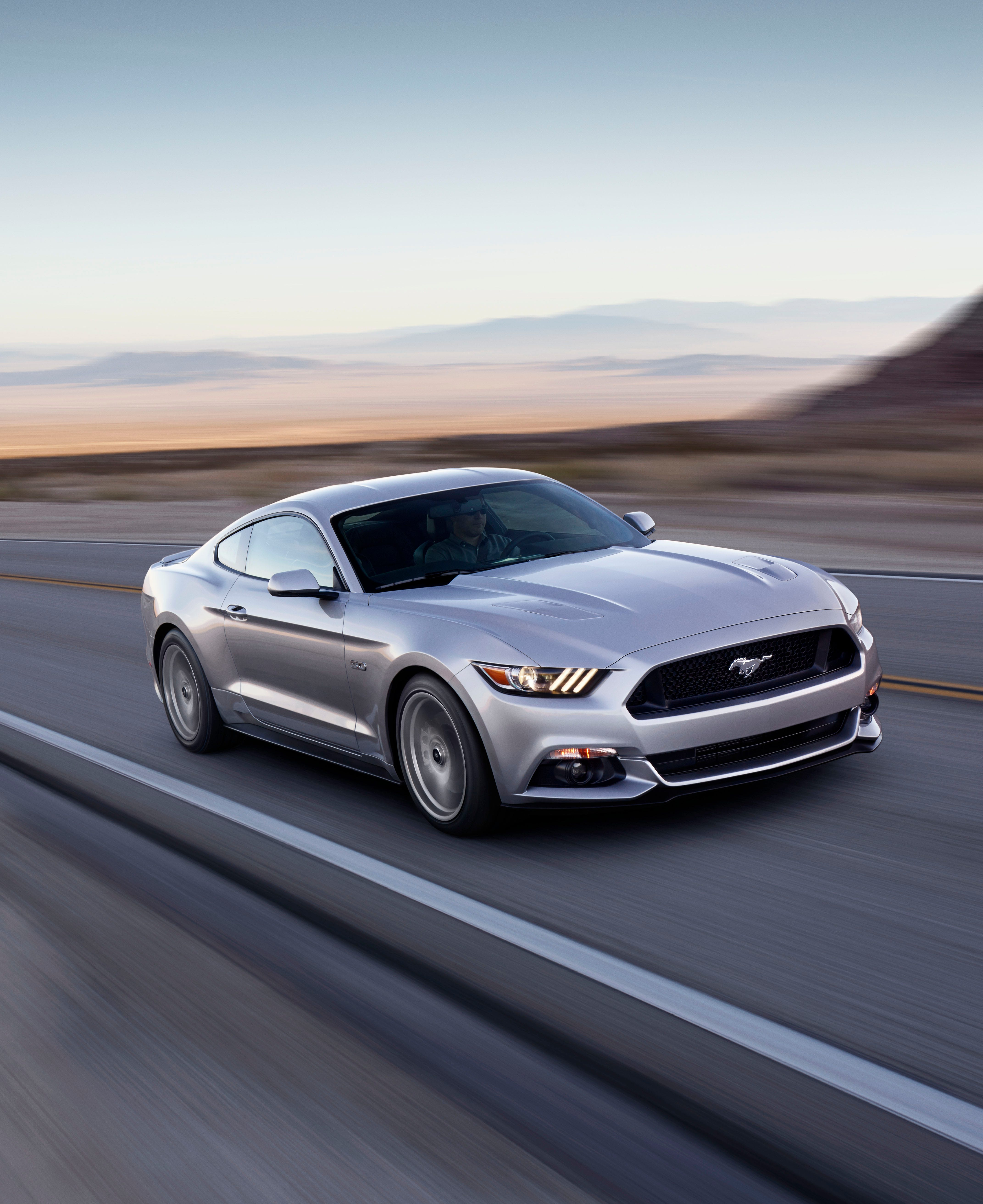 The redesigned 2015 Ford Mustang GT coupe. & Ford Mustang sales leap ahead of other sporty cars markmcfarlin.com