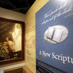 An exhibit at the Mormon Church History Museum is shown in Salt Lake City. The renovated museum also features a small and surprising display about an uncomfortable part of the faith's history that for generations has been glossed over: polygamy.