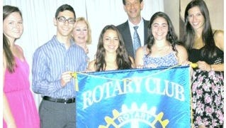 The New City Rotary Club recently awarded college scholarships to six students.