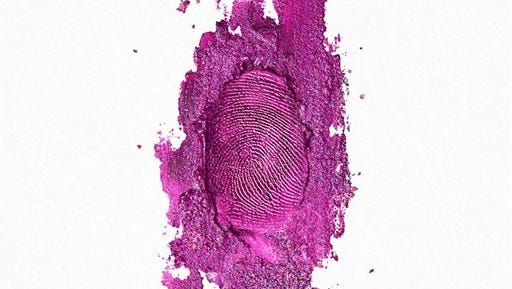 "This CD cover image released by Young Money/Cash Money/Republic Records shows ""The Pinkprint,"" by Nicki Minaj. (AP Photo/Young Money/Cash Money/Republic Records)"