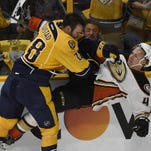 Predators center Paul Gaustad, a pending unrestricted free agent, may not be back with the team next season.