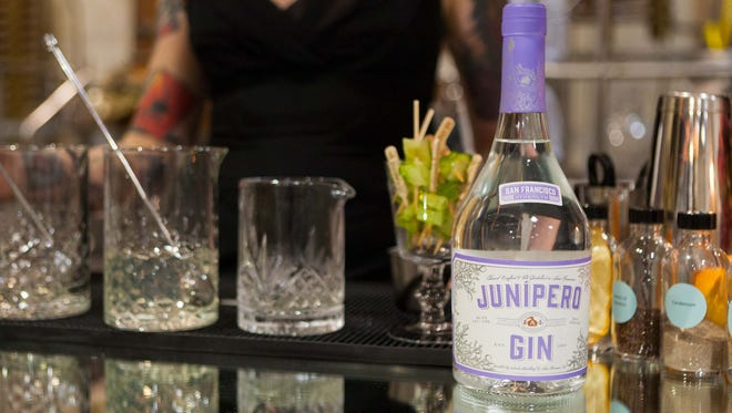 Junipero Gin was one of the first American craft gins and just celebrated its 20th anniversary. The high proof spirit comes in at 98.6 and utilizes botanicals including juniper, cassia bark, anise seed and grains of paradise.