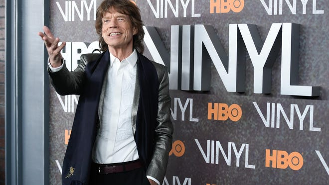 """Mick Jagger recently attended the premiere of HBO's new drama series, """"Vinyl."""" Jagger said filming the show, which he created with Martin Scorsese, reminded him of the 1970s when the Stones were dominating the music scene and touring around the world."""