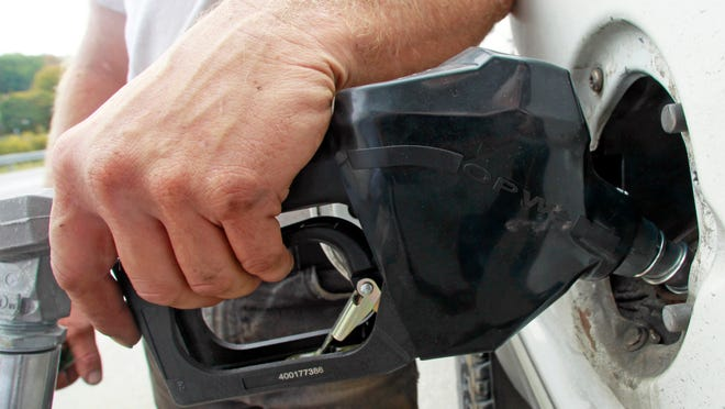 AAA Mid-Atlantic says the average price of a gallon of regular gas in the state on Friday was $2.78.