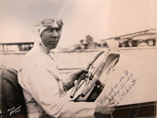 This photo is of Frank Lockhart, from about 1927.