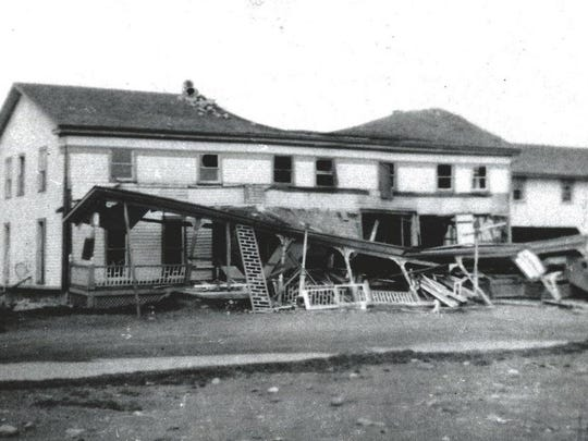 The Manchester Hotel in West Greece was destroyed by