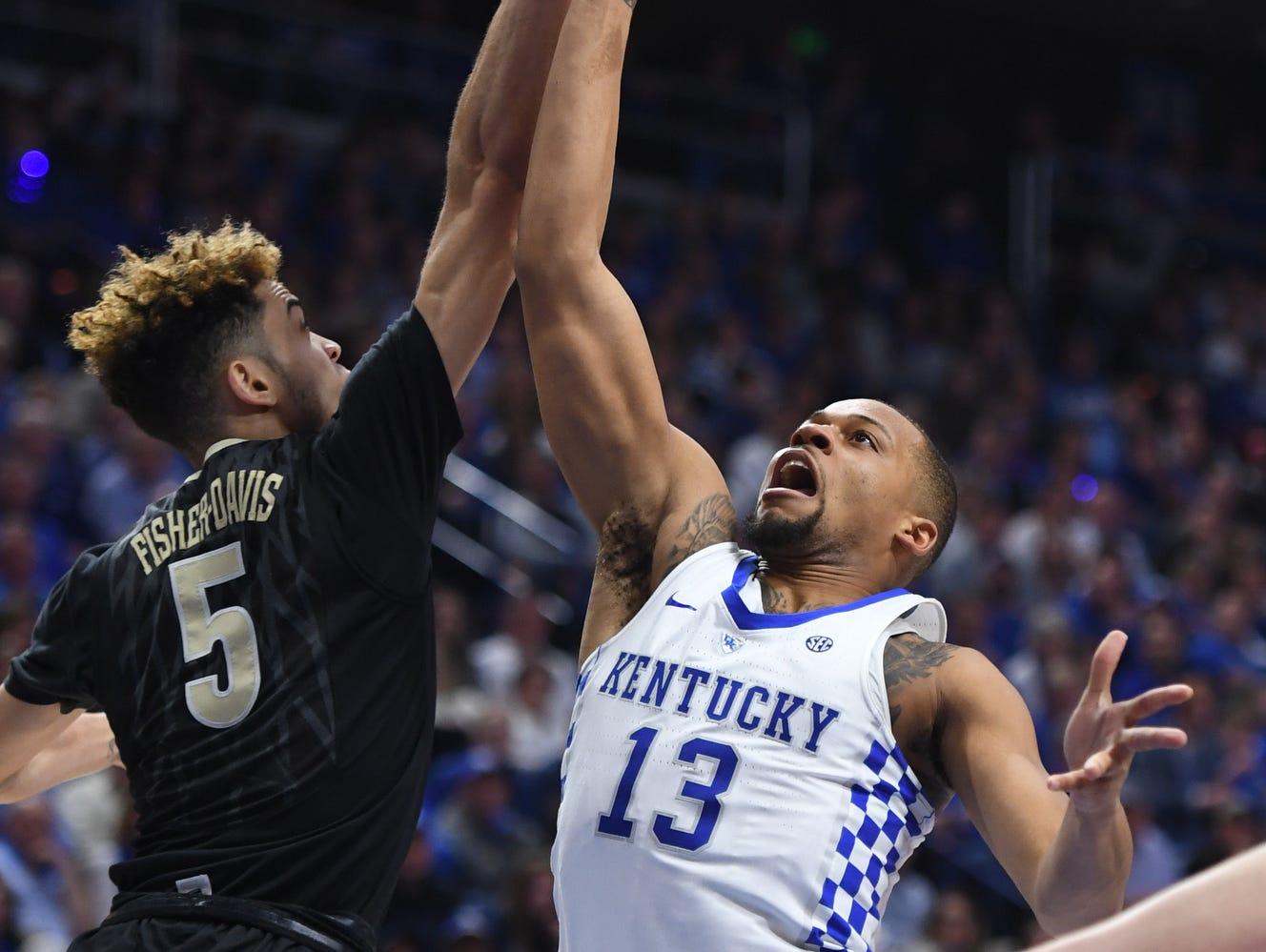 Cowgill 6 Uk Basketball Visits Vanderbilt Tuesday: Isaiah Briscoe: 'I Don't Think I've Been Struggling'