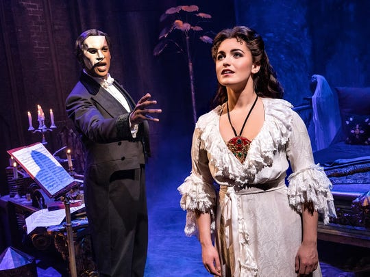 """Special add-on: """"The Phantom of the Opera,"""" Oct.24-Nov.4. Cameron Mackintosh's spectacular new production of Andrew Lloyd Webber's """"The Phantom of the Opera"""" returns to Nashville as part of its North American tour. The beloved story, with songs like """"Music of the Night,"""" """"All I Ask of You,"""" and """"Masquerade,"""" will be performed by a cast and orchestra of 52, making this """"Phantom"""" one of the largest productions now on tour."""