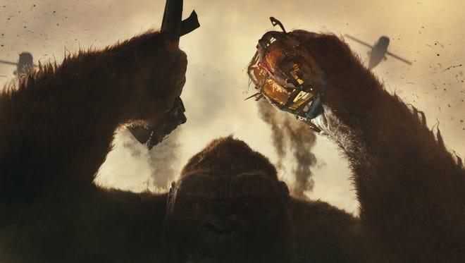 """A still from """"Kong: Skull Island."""""""