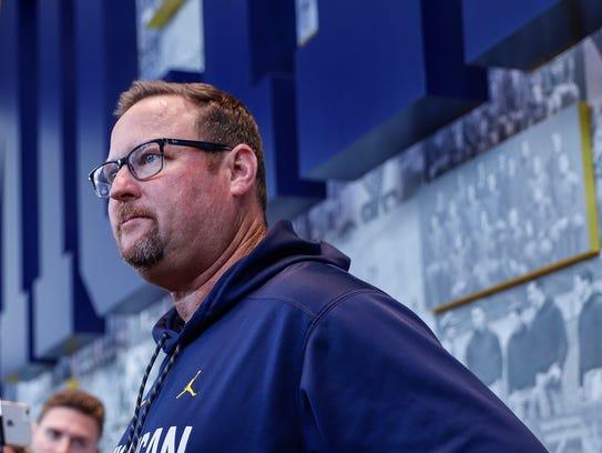 U-M football offensive coordinator Tim Drevno answers
