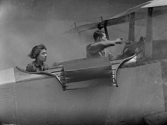 """""""The Flying Ace"""" from director Richard E. Norman."""
