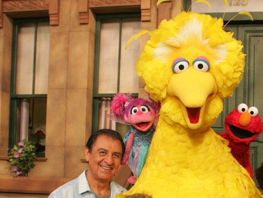 Emilio Delgado, left, is Luis on 'Sesame Street.'