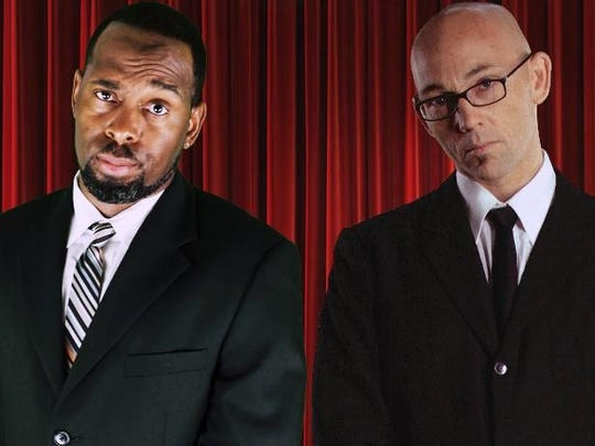 """Ty Barnett (""""Last Comic Standing,"""" """"Tonight Show"""") and Ian Harris (Netflix, """"Jimmy Kimmel Live"""") tackle race, religion, parenting, politics, relationships in """"Divided Comedy Tour"""" 8 to 10 p.m. April 22 at the Grand Ballroom. $17 in advance."""