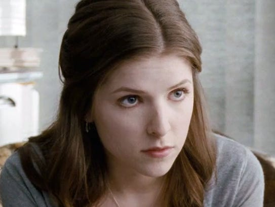 "Anna Kendrick stars in the 2011 film ""50/50."""