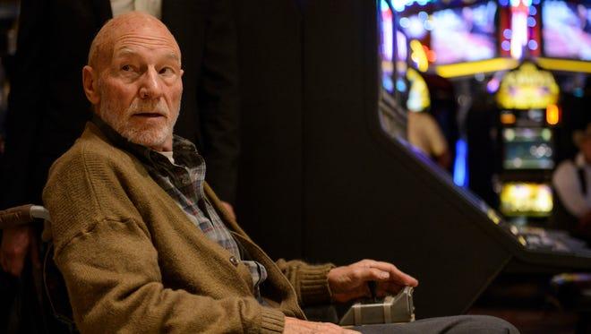 Sir Patrick Stewart returns as a weakened Professor Charles Xavier in 'Logan.'