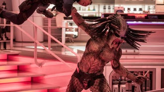 "A deadly alien warrior escapes from a secret government compound in ""The Predator."""