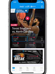 The March Madness Live app, from Turner Sports, CBS