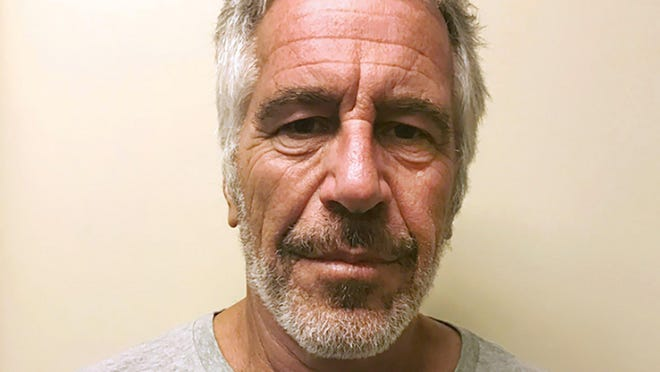 This March 28, 2017, file photo, provided by the New York State Sex Offender Registry shows Jeffrey Epstein.  Epstein has died by suicide while awaiting trial on sex-trafficking charges, says person briefed on the matter, Saturday, Aug. 10, 2019.