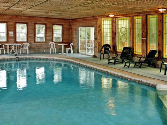 The Wilbraham Mansion features some more modern amenities such as an indoor pool.