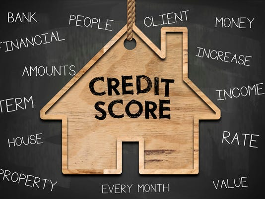 CREDIT SCORE / Blackboard concept (Click for more)