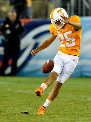 Tennessee's Aaron Medley played at Marshall County.